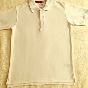 French Toast school polo shirt Size M 8